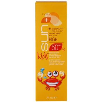 Avon Sun Kids creme bronzeador para crianças  SPF 50 3