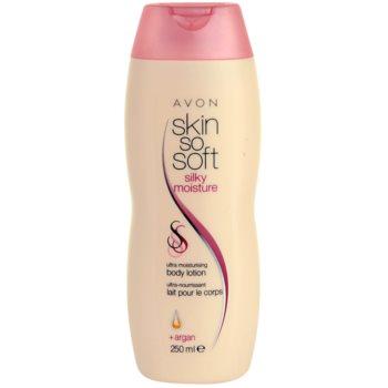 Avon Skin So Soft Silky Moisture weichmachende, feuchtigkeitsspendende Bodylotion mit Arganöl