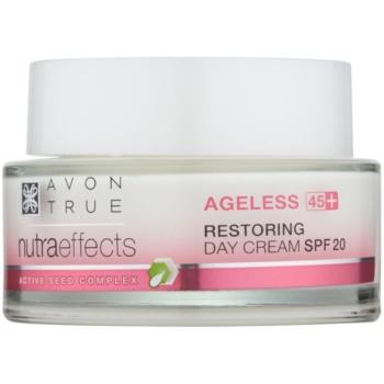 Avon True Nutra Effects crema de zi anti-aging SPF 20