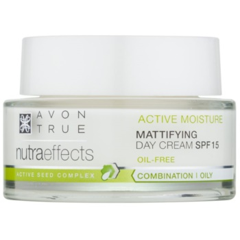Avon True Nutra Effects crema de zi de intinerire SPF 15