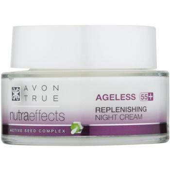 Avon True NutraEffects crema de noapte cu efect de intinerire pentru regenerare  50 ml
