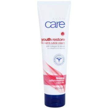 Avon Youth Restore cremă de mâini pentru protecție și regenerare cu colagen