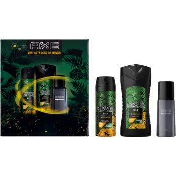 Axe Wild Green Mojito & Cedarwood set cadou (pentru corp) poza noua