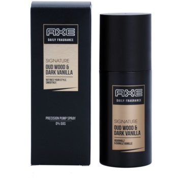 Axe Signature Oud Wood and Dark Vanilla spray pentru corp pentru bãrba?i imagine produs