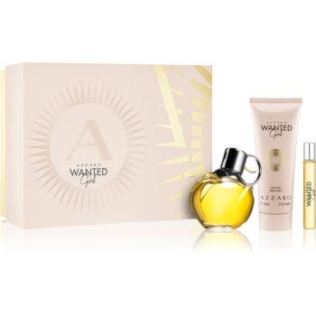 Azzaro Wanted Wanted Girl parfémovaná voda 80 ml + tělové mléko 100 ml + Wanted Girl parfémovaná voda 7,5 ml
