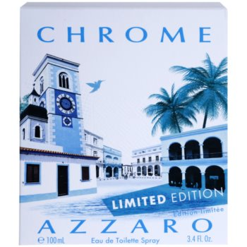 Azzaro Chrome Limited Edition 2014 Eau de Toilette para homens 4