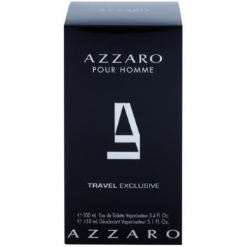 Azzaro Azzaro Pour Homme dárková sada VIII. toaletní voda 100 ml + deodorant ve spreji 150 ml