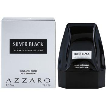 Azzaro Silver Black balzám po holení pro muže 75 ml
