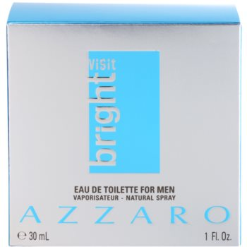 Azzaro Visit Bright Eau de Toilette für Herren 4