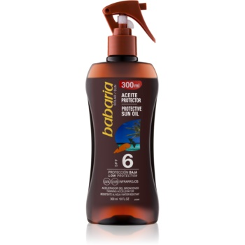 babaria sun protective ulei spray pentru bronzare spf 6