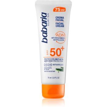 Babaria Sun Face crema de soare pentru fata SPF 50+