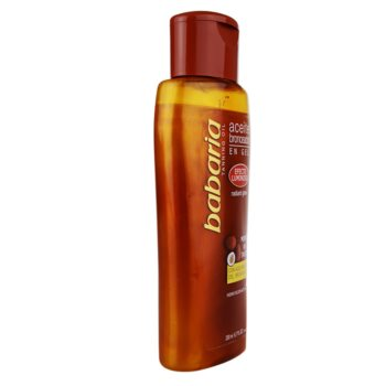 Babaria Sun Bronceador bleščeče olje za povečanje porjavelosti 1