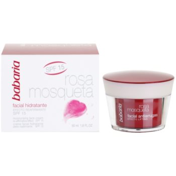 Babaria Rosa Mosqueta creme de dia hidratante with extracts of wild roses 4