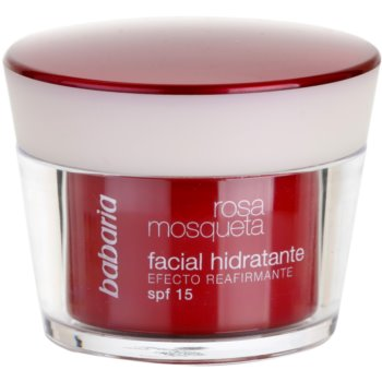 Babaria Rosa Mosqueta creme de dia hidratante with extracts of wild roses