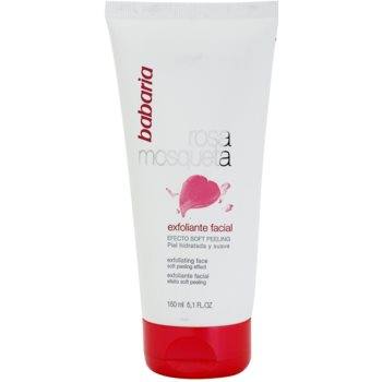 Babaria Rosa Mosqueta peeling suave de pele with extracts of wild roses
