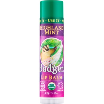 Badger Classic Highland Mint balsam de buze