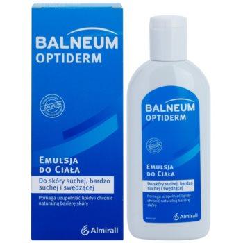Balneum Optiderm емульсія для тіла для сухої шкіри з відчуттям свербіння 1