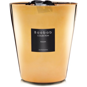 Baobab Les Exclusives Aurum lumânare parfumată