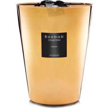 Baobab Les Exclusives Aurum lumânare parfumată