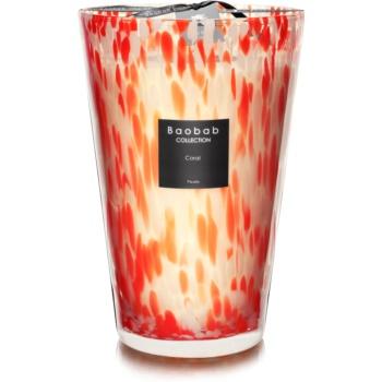 Baobab Coral Pearls lumanari parfumate 35 cm