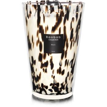 Baobab Black Pearls lumânare parfumată