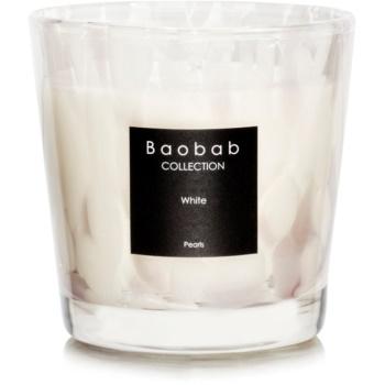 Baobab White Pearls lumânare parfumată