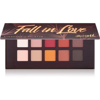 Barry M Fall in Love paletã cu farduri de ochi cu oglinda mica imagine produs
