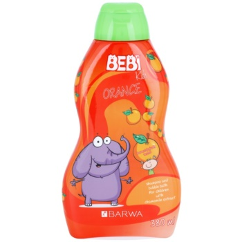 Barwa Bebi Kids Orange Shampoo und Badeschaum 2in1