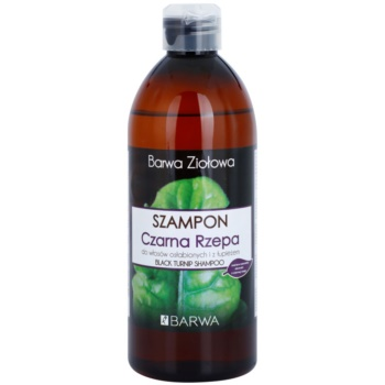 Barwa Herbal Black Turnip шампоан против пърхот за изтощена коса