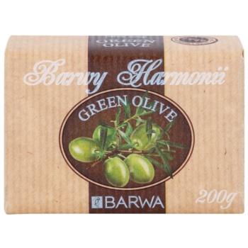 Barwa Harmony Green Olive Seife mit Bambus Butter 1