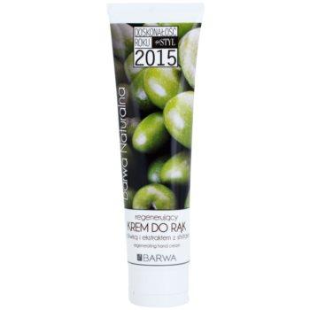Barwa Natural Green Olive creme regenerador   para mãos e unhas
