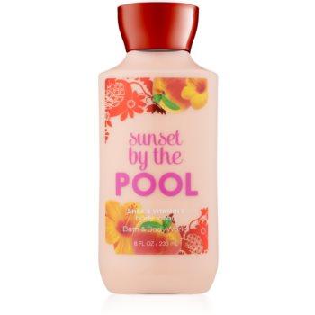 Bath & Body Works Sunset by the Pool lapte de corp pentru femei 236 ml