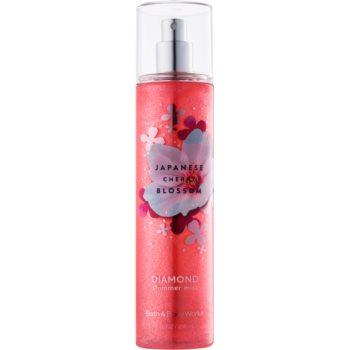 Bath & Body Works Japanese Cherry Blossom spray pentru corp pentru femei 236 ml strălucitor
