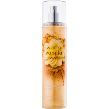 Bath & Body Works Warm Vanilla Sugar spray pentru corp pentru femei 236 ml strălucitor