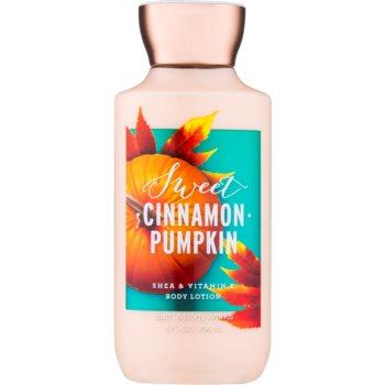 Bath & Body Works Sweet Cinnamon Pumpkin lapte de corp pentru femei 236 ml