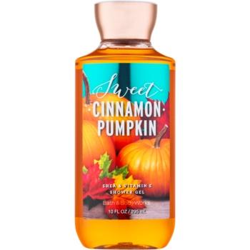 Bath & Body Works Sweet Cinnamon Pumpkin gel de dus pentru femei 295 ml
