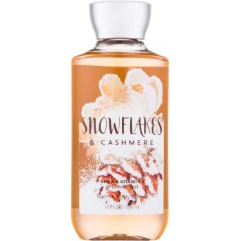 Bath & Body Works Snowflakes & Cashmere gel de dus pentru femei 295 ml