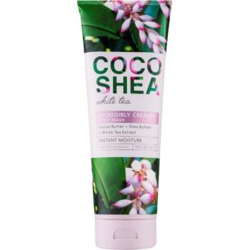 Bath & Body Works Cocoshea White Tea crema de dus pentru femei 296 ml