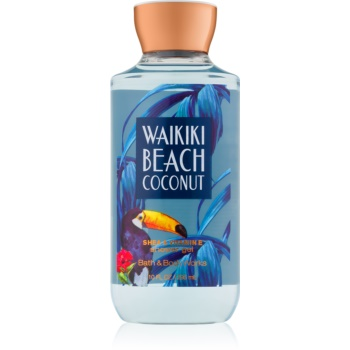 Bath & Body Works Waikiki Beach Coconut gel de dus pentru femei 295 ml I.