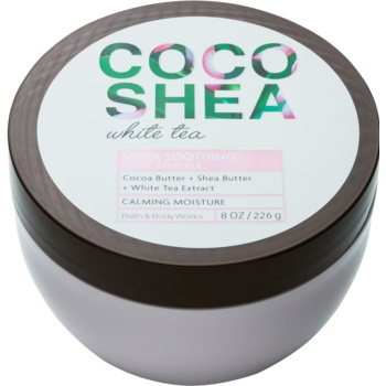 Bath & Body Works Cocoshea White Tea crema de corp pentru femei 226 g