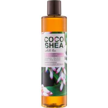 Bath & Body Works Cocoshea White Tea ulei de dus pentru femei 296 ml