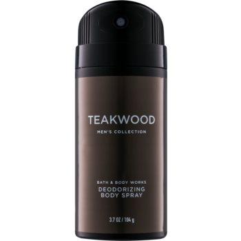 Bath & Body Works Men Teakwood deospray pentru barbati 104 g
