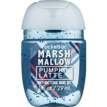 Bath & Body Works PocketBac Marshmallow Pumpkin Latte Gel antibacterial pentru maini.