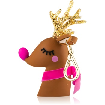 Bath & Body Works PocketBac Light-Up Reindeer ambalaj strălucitor din silicon, pentru gelul antibacterian