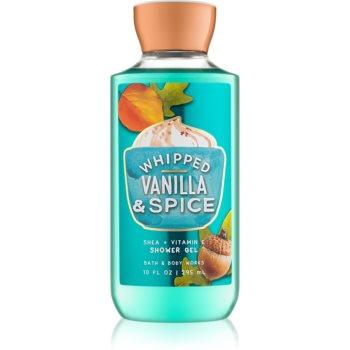 Bath & Body Works Whipped Vanilla & Spice gel de dus pentru femei 295 ml
