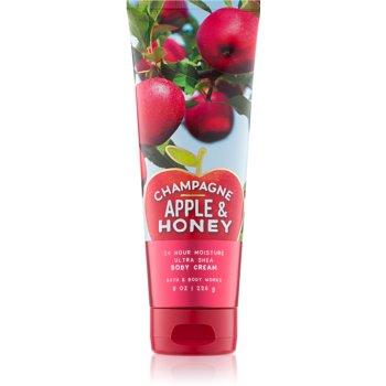 Bath & Body Works Champagne Apple & Honey crema de corp pentru femei 226 g