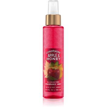 Bath & Body Works Champagne Apple & Honey spray pentru corp pentru femei 146 ml strălucitor