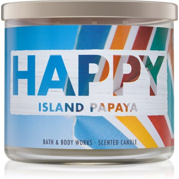 Bath & Body Works Island Papaya lumanari parfumate 411 g