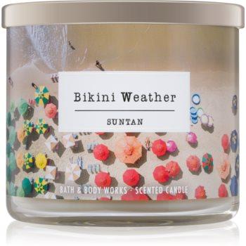 Bath & Body Works Suntan lumanari parfumate 411 g Bikini Weather