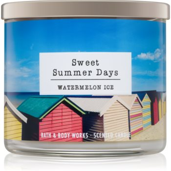 Bath & Body Works Watermelon Ice lumanari parfumate 411 g Sweet Summer Days